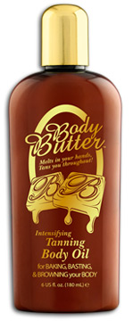 body butter tanning body oil